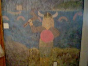 chalkboard viking
