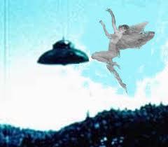 fairy and ufo