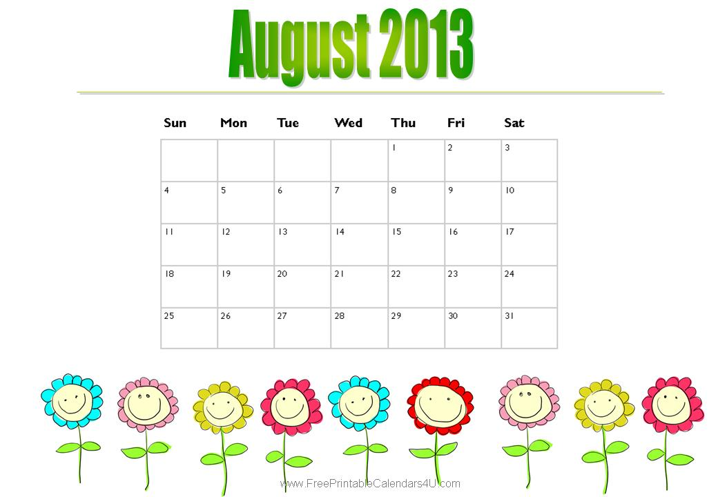 Special Days in August, 2013 | Still Learning Something New
