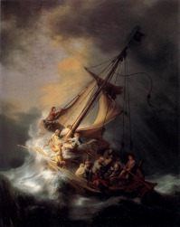 (Christ in the Storm on the Sea of Galilee)