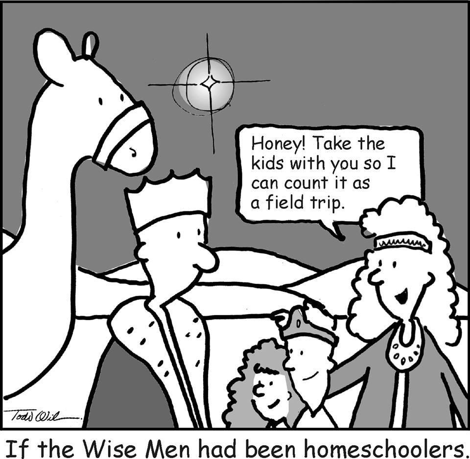 Homeschooling Humor Ndash Christmas Edition Still Learning