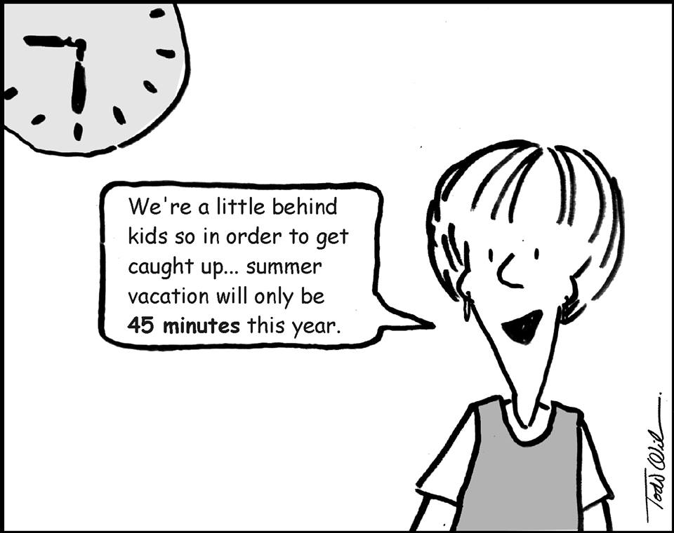 homeschooling humor end of the school year edition still